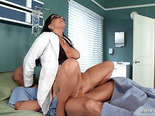 Hospital orgy close to Anna Bell Peaks, Romi Rain and Nicole Aniston