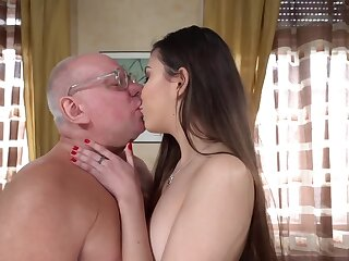 Old naughty professor gets his cock sucked be beneficial to better grades