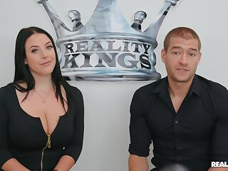 Pornographic Service Announcement Xander Corvus nailing Australian pornstar Angela White in reality hardcore