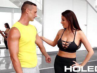 Chap-fallen honcho babe Anissa Kate wanna take cock into will not hear of anus