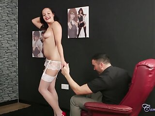 Dolly Diore Stripper Audition Facial