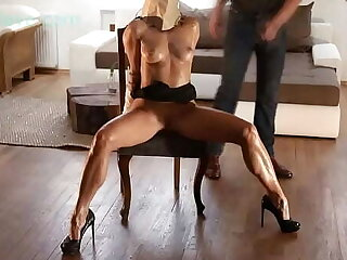 BDSM model Alex Zothberg shamefaced making her an object