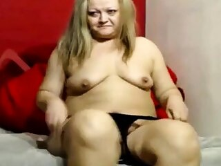 Granny Obese Ass on Cam