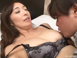 Japanese matured Otowa Ayako enjoys acquiring fucked by a lover