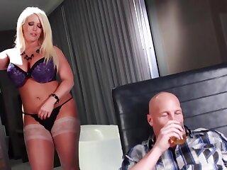 Blonde pornstar Alura Jenson with massive boobs gets fucked well