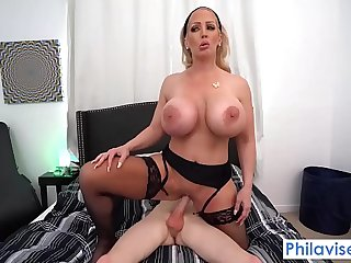 PHILAVISE-A caring welcoming from my amazonian milf neighbor Alura Jenson