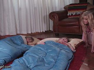 MommysGirl Horny Stepmom Unjust Fapping to Step-Teen & BFF