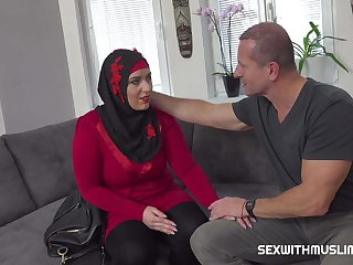 Grateful sexy muslim gets boned