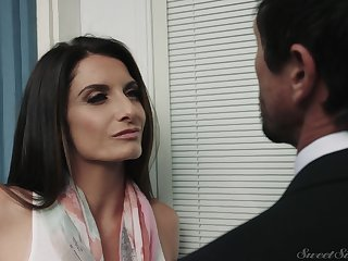 Silvia Saige loves when her partner puts his expansive cock in her