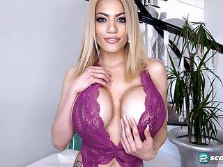Amber Alena: Dishonest Talking, Sexy Ambler - PornMegaLoad