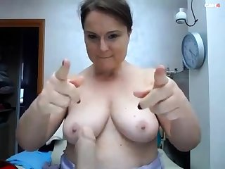 BBW give big boobs on webcam 2 asians p