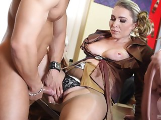 CFNM orgy intercourse in the square footage full with clothed battalion - Ferrarra Gomez