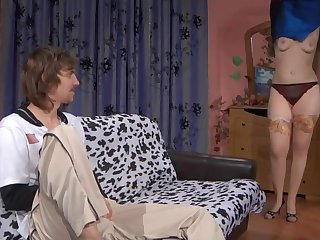 Horny Aunt with Big Boobs Amateur Russian Porn