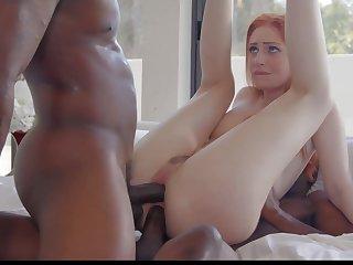 Kinky white Maya Kendrick is pilfer to thing on fat unafraid BBCs