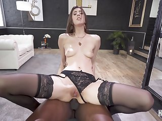 Lina Luxa - first farrago hole got monster load of shit challenge