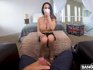 Hot busty doctor McKenzie Lee doesn't mind sucking a beamy everlasting phallus