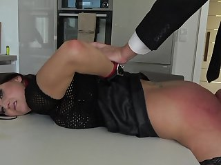 Seem like bondage coition excites submissive Barbara Bieber immensely