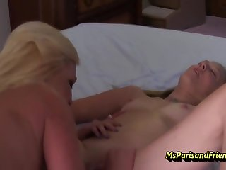 Our Babysitter Is A Horny Bisexual Slut With Ms Paris Serrate