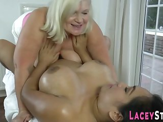 Senior British Lady Massage Porn Video